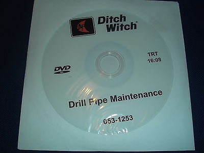 Ditch Witch Drill Pipe Maintenance Manual Cd 053-1253