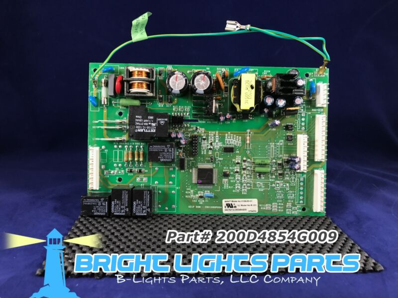 Ge Main Control Board For Ge Refrigerator 200d4854g009 Green