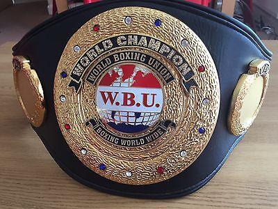 Exact WBU World Champion Boxing Belt Replica -BEST WBU REPLICA- IBF,WBA,WBO,WBC