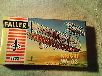 Faller 1:100 / HO  Wright  Wr 03   Mitte der 60er Jahre