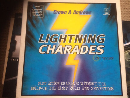 Lightning Charades board game - good condition and complete.