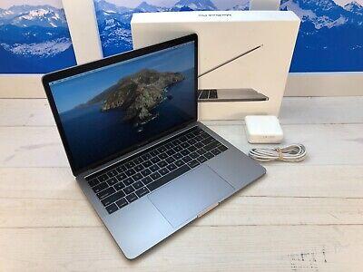 "Apple MacBook Pro Touch Bar 2019 13"" Laptop 128GB 8GB RAM Space Gray AppleCare"