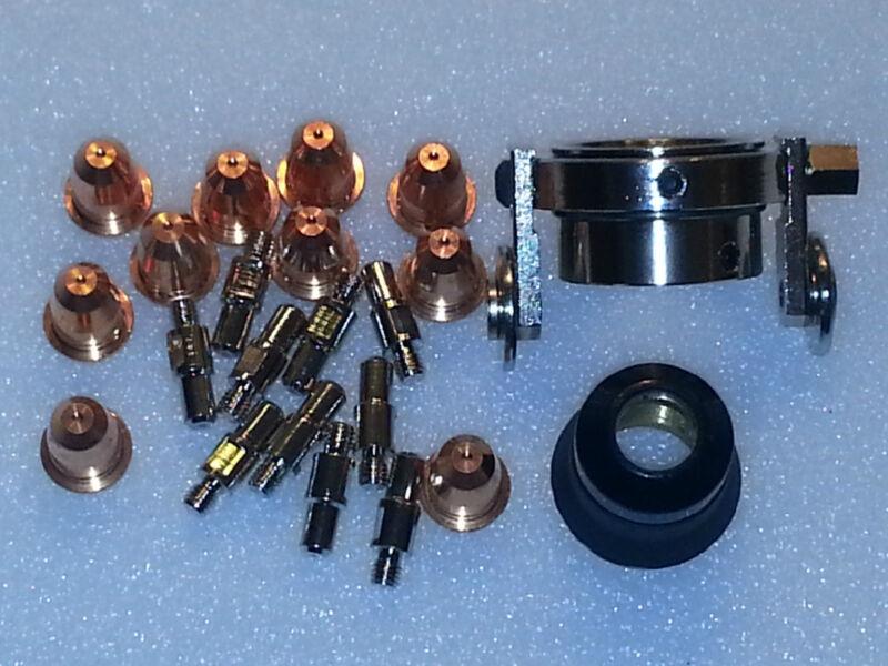 22pc Trafimet S45 Plasma Torch Set + Roller Wheel P60, 95136, 97994, 91814 *USA*