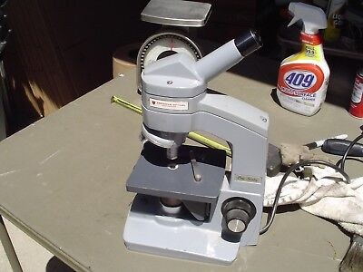 American Optical One-sixty Microscope W 43x And 10.25 Objectives
