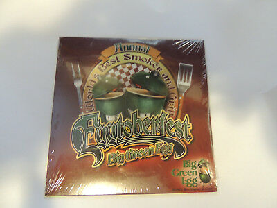 Used, Big Green Egg Annual Eggtoberfest DVD - Charcoal Kamado Smoker Grill for sale  Saint Clair Shores