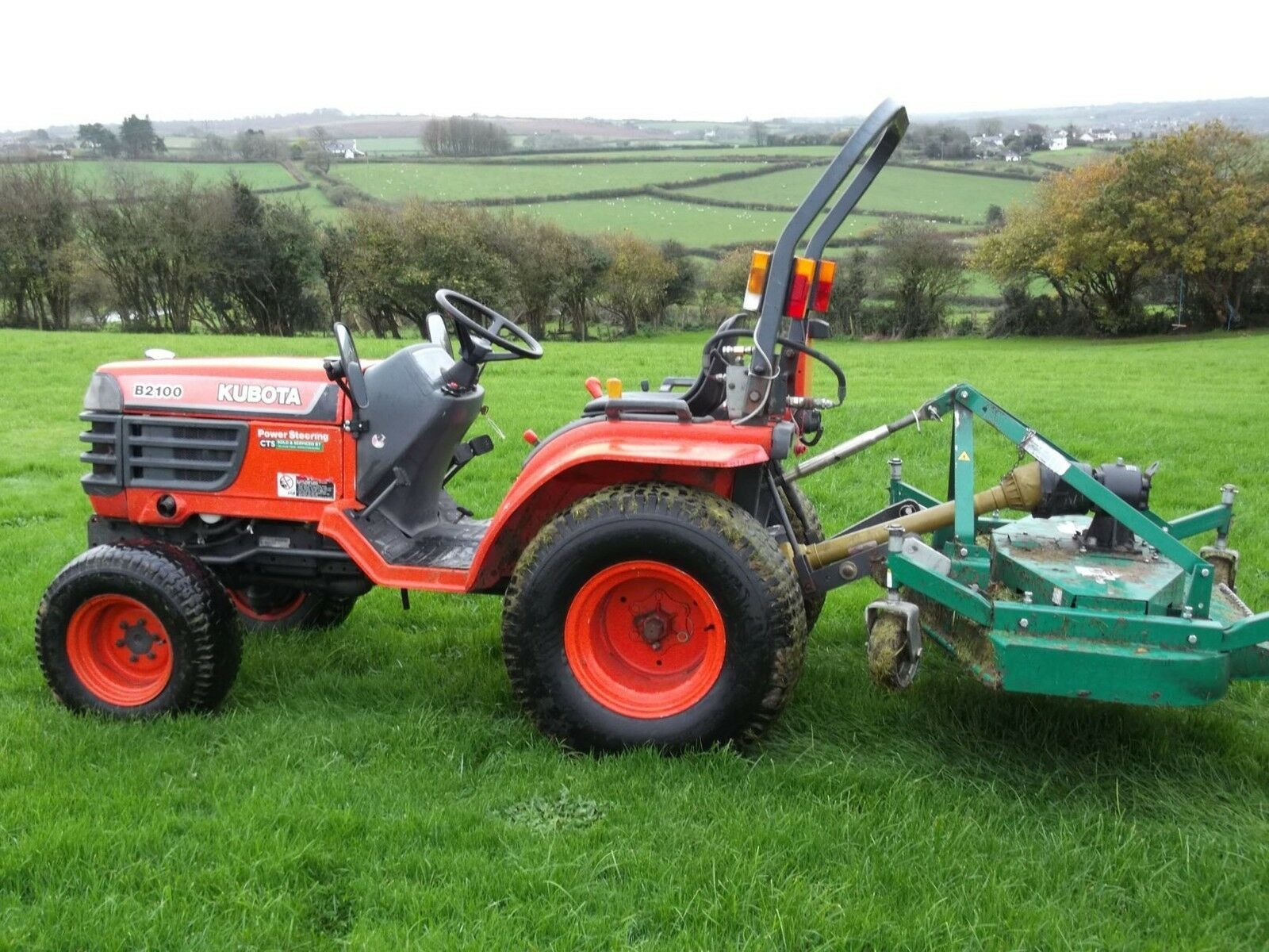 Kubota Tractor Service Manual B 2400 Car Owners B1700 Wiring Diagram B2100 B2400 Tractors Workshop Eur 8 45 Rh Picclick Fr La1944a