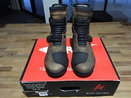 Motorcycle Adventure Boots - Brand New - Size 7