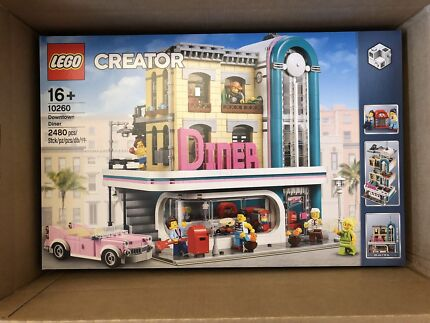 LEGO Creator Expert 10260 DOWNTOWN DINER Brand New 2018