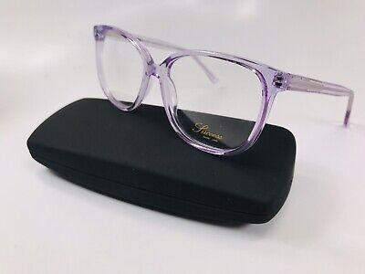 New Designer Inspired SUCCESS SS-122 Crystal Lilac Eyeglasses 53mm with (Knock Off Designer Eyeglass Frames)