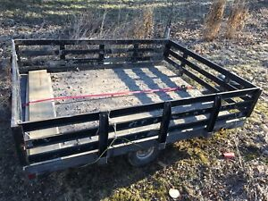 6 x 9 Utility Snowmobile Trailer