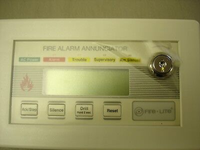 Fire Lite Lcd-80-f  Usedtested
