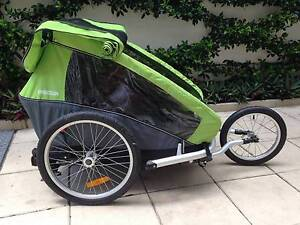 3 in 1 Croozer for 2 kids - almost new condition Rushcutters Bay Inner Sydney Preview