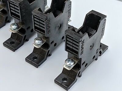 E-t-a Germany Type 12 Fuse Block Holder Rail Or Surface Mount Auto Blade Ato Atc