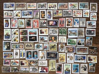 Collection Of Malta Stamps Kiloware