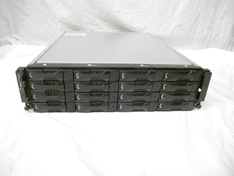 Dell EqualLogic PS6010 ISCSI SAN Storage System With 16x SATA Trays PS6010E