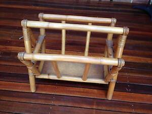 Magazine wood rack Casula Liverpool Area Preview