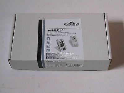 5x Durable Prospekthalter COMBIBOXX 1/3 A4 A6 transparent 8590-19 4005546803432
