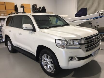 2018 TOYOTA LANDCRUSIER VX ## 8600 KLM ## West Perth Perth City Area Preview