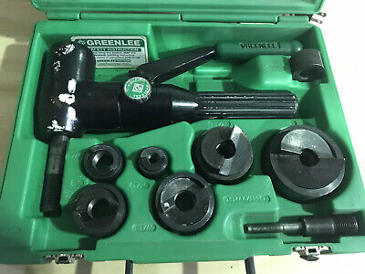 Greenlee 7906sb Quick Draw 90 Hydraulic Punch Kit Used In Great Condition