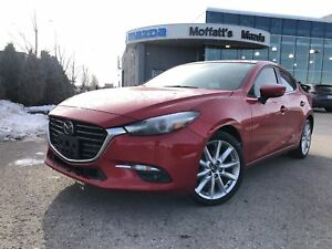 2017 Mazda Mazda3 GT-P GT-PREM. RADAR CRUISE, SMART BRAKE, LANE