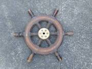 STEERING WHEEL TIMBER 600 MM DIAMETER Kuranda Tablelands Preview