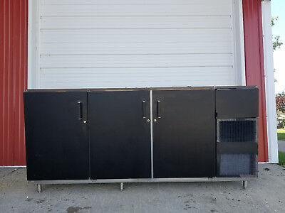 Perlick C5064e-sc-ul 3 Door Bar Back Cooler 115 Volt Black