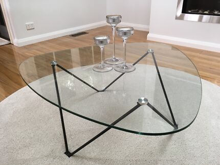 glass coffee table nickscali Home Garden Gumtree Australia