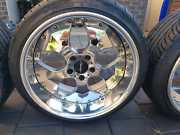 SSR Zwinger 18x10 & 18x11 deep dish wheels Kidman Park Charles Sturt Area Preview