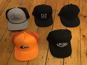 5 Assorted Hats - $5 each or all 5 for $20