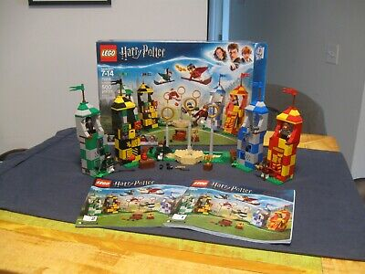 LEGO Harry Potter 75956 Quidditch Match - COMPLETE w box, book