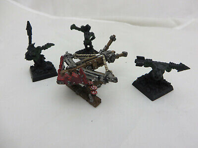 Games Workshop Warhammer Goblin Spear Chukka Orcs and Goblins Metal BNIB New OOP