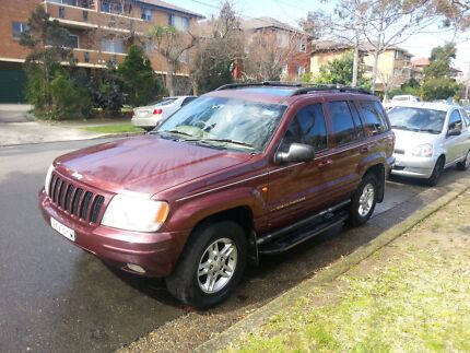 Jeep Grand Cherokee Limited 4.7L V8 2000 model Urgent sale Roselands Canterbury Area Preview