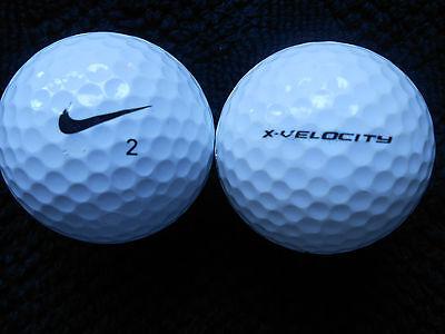 "40  NIKE "" X VELOCITY "" Golf Balls - ""A "" Grade."