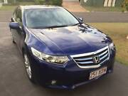 2012 HONDA ACCORD NAVI IN STUNNING BLUE WITH VER Y LOW KLMS Noosaville Noosa Area Preview