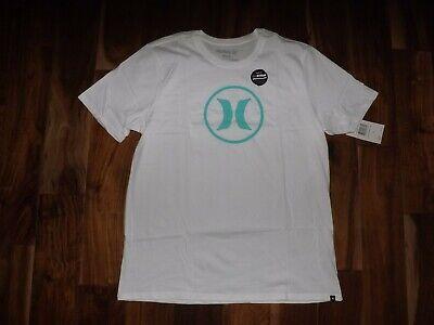 NWT Mens HURLEY White Icon Drift Tee Shirt Size M L XL XXL