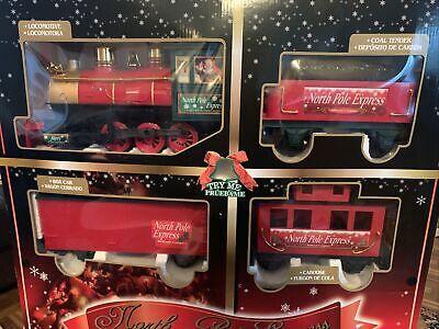 EZTEC 27 Piece North Pole Express Christmas Train Set #62180