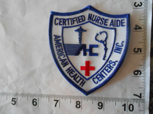 NURSE AIDE - American Health Centers Patch     Vintage and Free shipping