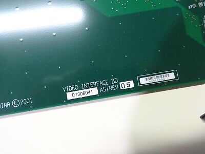 Siemens Antares Ultrasound Video Interface Board 07306041 Pm30-32039