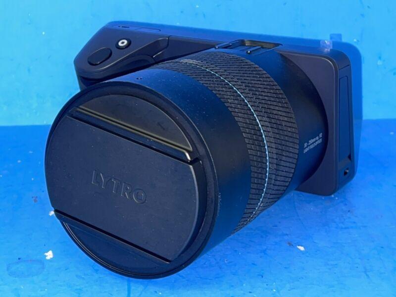 Lytro ILLUM Digital Camera - Black BETA VERSION 1:3 MARCO 30-250mm EQ. F/2 LFO