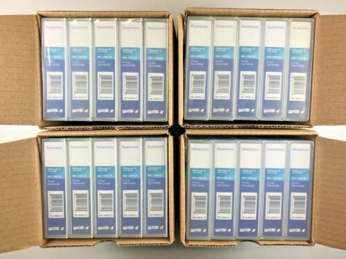 NEW- QUANTUM LTO-4 CARTRIDGE (20 PACK) MR-L4MQN-01 /1800GB 1.6TB BACKUP STORAGE