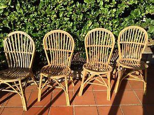 Vintage cane chairs excellent condition Mosman Mosman Area Preview
