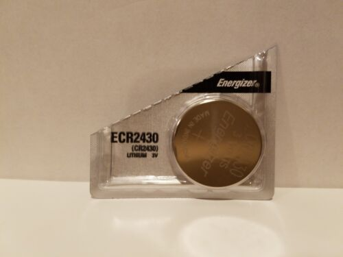1 Fresh Energizer Ecr2430 Cr2430 3 V Litimum Batteries 2430 Ships From Usa Fast