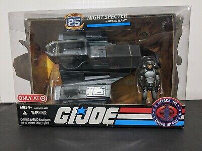 Night Specter GI JOE COBRA 25th Anniversary Hasbro MIB Attack on Island