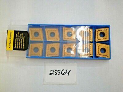 10 Pc. Cnmg 643 C5c Carbide Inserts New Pic25564
