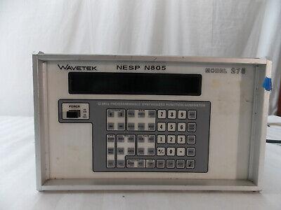 Wavetek Model 278 Programmable Synthesized Functions Generator