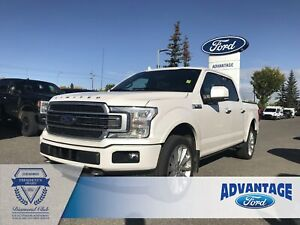 2018 Ford F-150 Limited Trailer Tow - Leather Bucket Seats