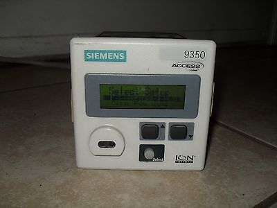 Siemens 9350dc-100-0nzzza Access Power Meter Ion Tested Powers Up Great