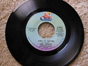 VINTAGE-CARL-DOUGLAS-KUNG-FU-FIGHTING-GAMBLIN-MAN-45-RPM-20-CENTURY-RECORD