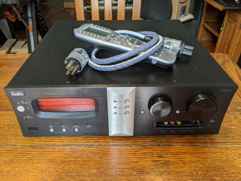 Sunfire TGR-401 7.1 Channel 200 Watt AV Receiver (USED)