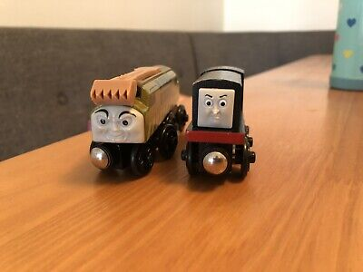 Thomas & Friends Wooden Railway Diesel 10 & Diesel Train Lot